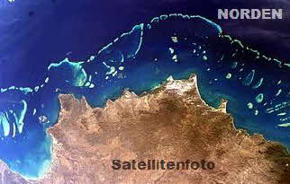 Greatbarrierriff Satellitenfoto